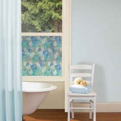 Lisboa Privacy Film in Blue/Green