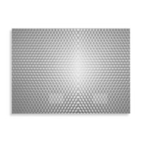 Circles Privacy Film in Grey