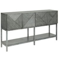 Coast to Coast Imports LLC® Florham 4-Door Media Console in Grey