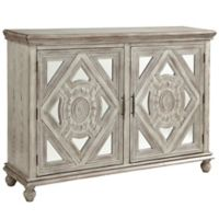Coast to Coast Imports Jaxon 2-Door Media Credenza in Ivory
