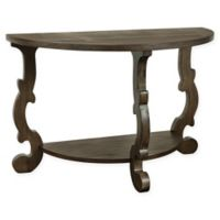 Coast to Coast Imports LLC® Pacific Demilune Console Table in Brown