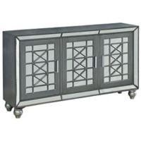 Coast to Coast Imports LLC® Galena Metallic Credenza in Grey