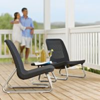 Keter Rio 3-Piece Patio Set in Grey