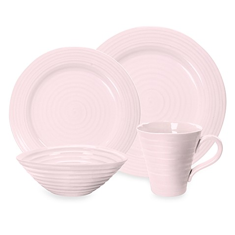 Sophie Conran for Portmeirion® Pink 4-Piece Place Setting