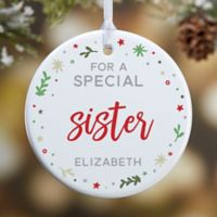 You Are Special Personalized 1-Sided Glossy Christmas Ornament