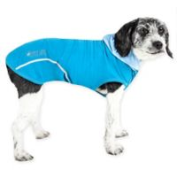 X-Small Pull-Rover Sleeveless Performance Pet Hoodie in Blue