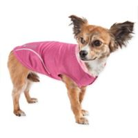 Small Pull-Rover Sleeveless Performance Pet Hoodie in Pink