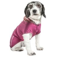 Small Pull-Rover Sleeveless Performance Pet Hoodie in Maroon