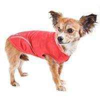 Medium Pull-Rover Sleeveless Performance Pet Hoodie in Red