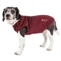 Pet Life™ Active Aero-Pawlse Medium Dog Performance T-Shirt in Red