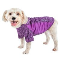 Pet Life® Extra-Large Active Warf Speed Performance Dog T-Shirt in Purple