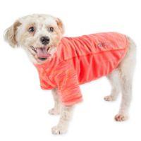 Pet Life® Extra-Large Active Warf Speed Performance Dog T-Shirt in Orange