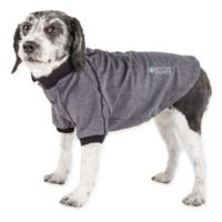 Pet Life Active Fur-Flexed Solid Polo T-Shirt
