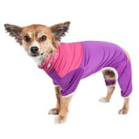 Embarker Extra-Small 2-Tone Performance Dog Tracksuit in Lavender