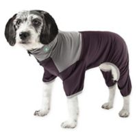 Embarker Medium 2-Tone Performance Dog Tracksuit in Brown
