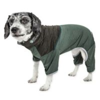 Embarker Medium 2-Tone Performance Dog Tracksuit in Green
