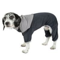 Embarker Large 2-Tone Performance Dog Tracksuit in Black
