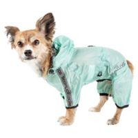 Torrential Shield Extra-Large Full Body Dog Windbreaker Raincoat in Green