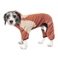 Pawsterity Small Two-Toned Performance Pet Hoodie in Orange