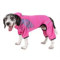 Pawsterity Medium Two-Toned Performance Pet Hoodie in Pink