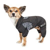 Pawsterity Medium Two-Toned Performance Pet Hoodie in Black