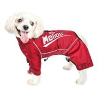 X-Small Dog Helios® Hurricane Waterproof and Reflective Full Body Dog Jacket in Red