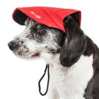Medium Cap-Tivating Fashion Dog Hat in Red