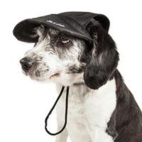Large Cap-Tivating Fashion Dog Hat in Black