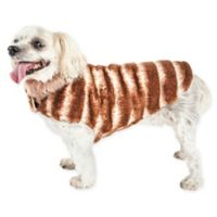 Pet Life® Small Luxe Tira-Poochoo Dog Coat