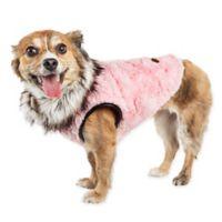 Pet Life® Small Luxe Pinkachew Dog Coat
