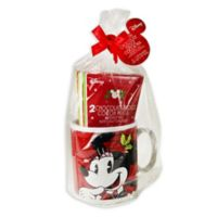 Disney® Minnie Jumbo Mug with Cocoa Set in Red
