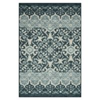 "Maples™ Super Loop 30"" X 46"" Tufted Accent Rug in Navy"