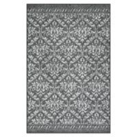 "Maples™ Super Loop 30"" X 46"" Tufted Accent Rug in Grey"