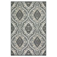 "Maples™ Super Loop 30"" X 46"" Tufted Accent Rug in Gold"