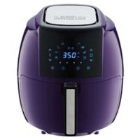GoWISE USA® 5.8 qt. Air Fryer with 6-Piece Accessory Set in Plum