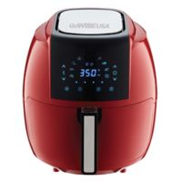 GoWISE USA® 5.8 qt. Air Fryer with 6-Piece Accessory Set in Red