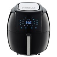 GoWISE USA® 5.8 qt. Air Fryer with 6-Piece Accessory Set in Black