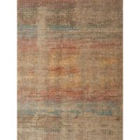 Loloi Rugs Javari Abstract 9'6 x 12'6 Area Rug in Smoke/Prism