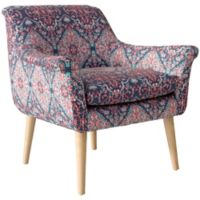 Skyline Furniture Tabriz Cerulean Armchair in Blue