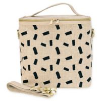 SoYoung Block Insulated Lunch Pouche in Linen