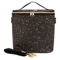 SoYoung Splatter Insulated Lunch Pouche in Black Gold