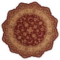 Nourison Heritage Hall 8' Square Area Rug in Red