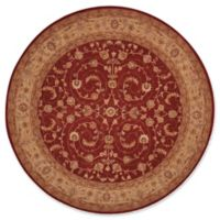Nourison Heritage Hall 9' Square Area Rug in Red