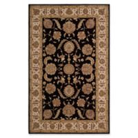 Nourison Heritage Hall 5'6 x 8'6 Area Rug in Black/Beige