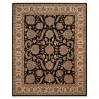 Nourison Heritage Hall 7'9 x 9'9 Area Rug in Black/Beige