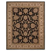 Nourison Heritage Hall 12' x 15' Area Rug in Black/Beige