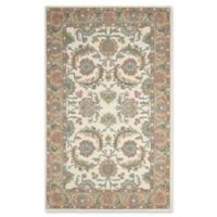 Nourison India House 2'6 x 4' Accent Rug in Ivory/Gold