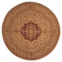 Nourison Heritage Hall 9' Round Area Rug in Lacquer