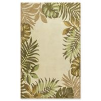 KAS Havana Paradise 2'6 x 4'2 Accent Rug in Ivory