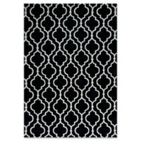 KAS Allure Fiore 7'7 x 10'10 Area Rug in Charcoal
